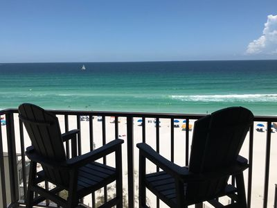 Photo for Beachfront Condo w/Balcony, Spectacular Gulf View, Pool, & More