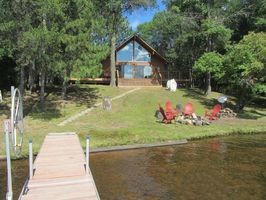 Photo for 3BR Cabin Vacation Rental in Danbury, Wisconsin