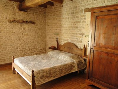 Photo for THE CHARMENTAISE charming B & B at the gates of La Rochelle and the Marais Poitevin
