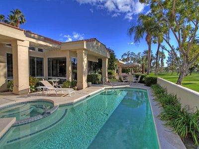 Photo for Indian Wells  Home with Pool and Spa in Gated Country Club Communit