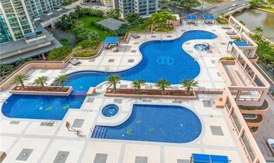 Photo for WOW! $105/night for a 2 bed, 2 bath amazing pool, parking, close to beach, shops