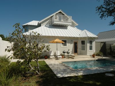 Photo for Gulfview in Old Seagrove very close to the beach 1 mile to Seaside private pool