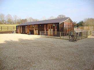Photo for Stunning Luxury Log Cabin w/Magnificent Views Across Oxfordshire Countryside