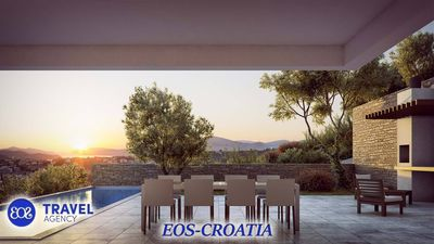 Photo for Luxurious five star villa Berry with pool, sauna and jacuzzi EOS-CROATIA