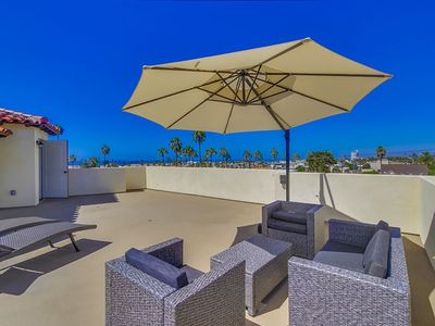 Photo for Spanish Style Brand New Townhome Just Blocks To The Beach W Panoramic Ocean View