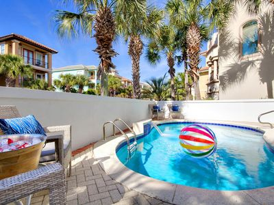 Photo for 5BR Beacon by the Sea☀Book 4 Thanksgiving!☀ PrivatePool &GolfCart 100yds2Bch