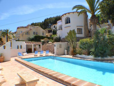 Photo for Typically Spanish private 2 bed 2 bathroom villa with private pool