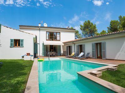 Photo for Modern and comfortable villa only 5 minutes walking to Puerto Pollensa beach