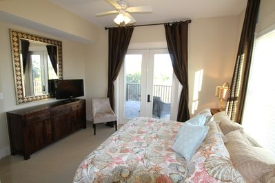Master Bedroom, Large Private Balcony, Walk-In Closet, and Ensuite Bathroom