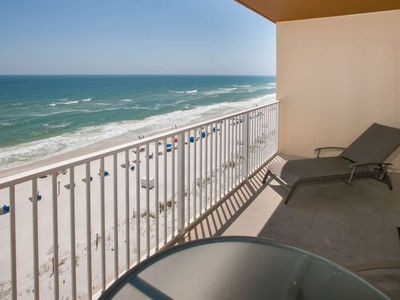 Photo for 3rd Floor Gulf-front | Zero Entry Pool, Indoor Pool, Hot Tub, Sauna, Fitness, Wifi, BBQ, Game Room