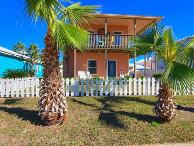 Photo for 3/3 private home! 1000 sq ft of decks! Community Pool! Boardwalk! Golf Cart