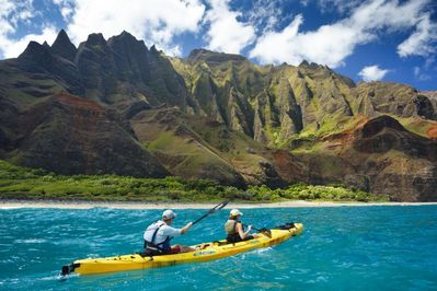 Breathtaking views of Napali Coast