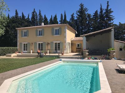 Photo for Provencal Bastide with pool and garden near Saint Remy de Provence