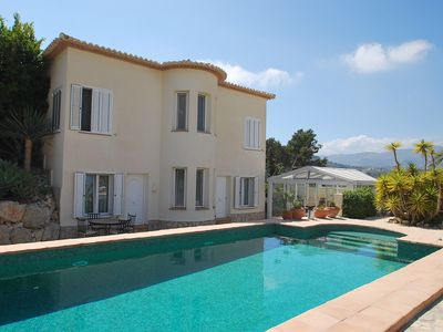 Photo for Marvious villa with private pool and wonderful panoramic views