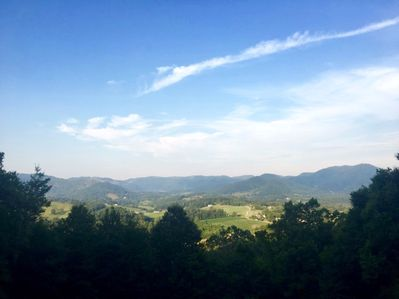 """Spectacular Views from """"The Glens of Iron Duff"""" Western NC"""