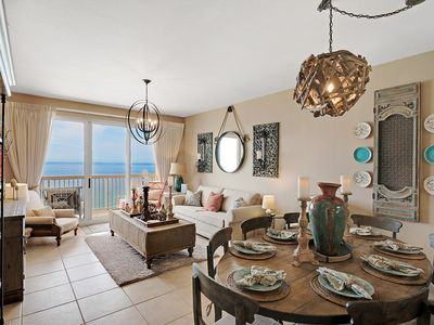 Photo for LUXURIOUS Calypso Condo Nicer than rest-Private Parking space! Beach Chairs! +++