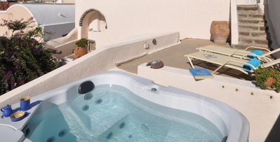 Photo for Erinio House, Santorini, 2 Bedrooms, 2 Bathrooms, Private Pool, Up to 6 Guests, A fun-loving and cozy habitat