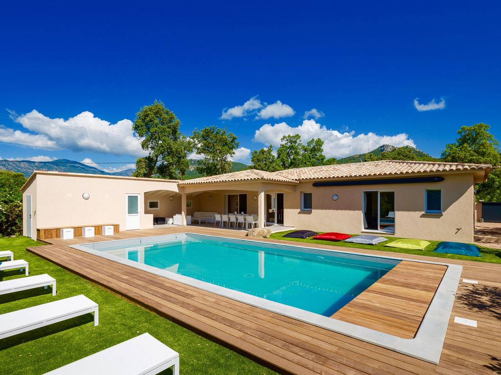 Villa ind pendante 4 ch 3 sdb 10 couchages pool house piscine chauff e 28 sainte lucie - Photos pool house piscine ...