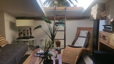 Photo for Charming 2 rooms Heart of Old Antibes - Place Nationale - 300 m from the beach