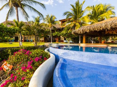 Photo for Casa Manzanillo - Ocean Front, Pool, Room With Ac, Large Kitchen