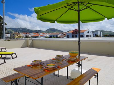 Photo for Apartment with large terrace and sea view