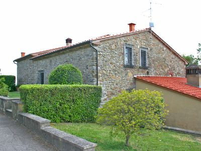 Private Villa with private pool, WIFI, A/C, TV, patio, panoramic view, parking, close to Arezzo