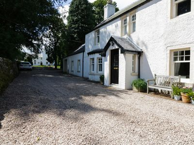 Photo for BANNATYNE LODGE, pet friendly, with open fire in Newtyle, Ref 952764