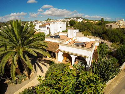 Photo for Nice holiday home with Mediterranean garden in Cala Millor