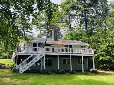 Photo for Quiet Cove On Pristine Sebago Lake, 5 BR, Beach, Dock