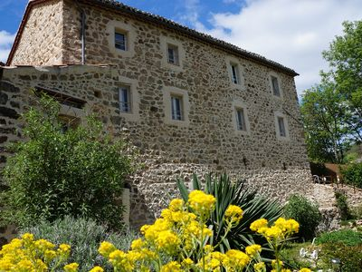Photo for The refuge of the fairies: **** cottage in the heart of the Monts d'Ardèche- Near river