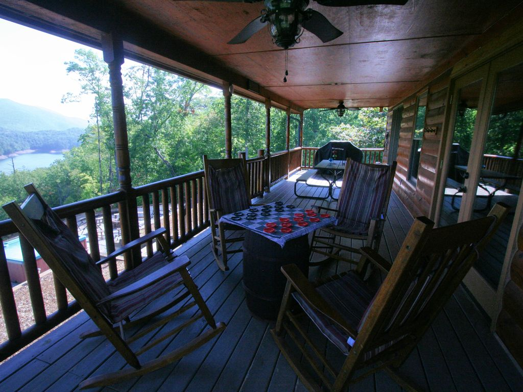 fontana lake cabin lake view access w breathtaking views