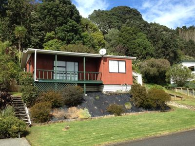 Photo for Quiet Aotea Bach with harbour views