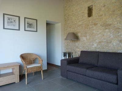 Photo for At the Perroche 100 meters from the beach house with large garden.