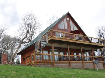 Photo for Villa with Majestic Views of Monocacy River. Sleeps 7, 2 Bath, Full Kitchen