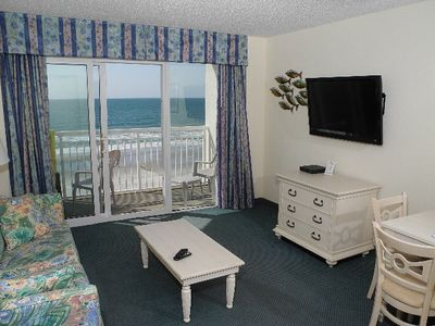 Photo for Oceanfront Baywatch 638! 1 BR Oceanfront View and Amenities. Book now for best rate!