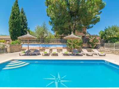 Photo for CASA RUBI - Chalet with shared pool in Arta.