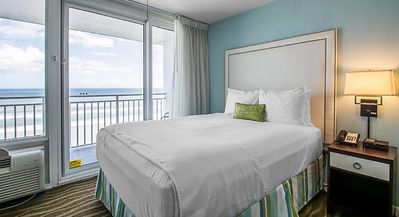 Photo for OCEAN VIEW - 1 Bedroom, 1 Bathroom, Full Kitchen, Beach Front, Daytona Beach