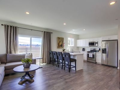 Bay Park Home Steps to USD w/Private Rooftop Deck.  New Construction (2018), 3 Bedrooms.