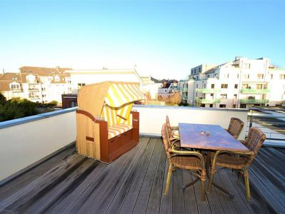 Photo for Modern apartment for 4 persons with 2 roof terraces.