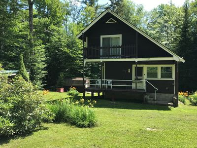 Photo for MOUNTAIN BIKE TRAILS OUT THE DOOR, snowmobile, hike,   Quiet cabin get-a-way...