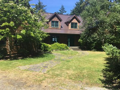 Photo for Beautiful Mountainside Waterview Home on Gorgeous Orcas Island