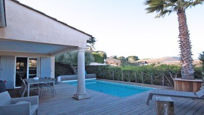 Photo for Villa T4 - 6 people - Private pool - Wifi - Air conditioning - Sainte Maxime