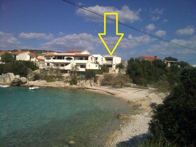 Photo for Apartment Željka  - Cove Kanica (Rogoznica), Riviera Sibenik, Croatia