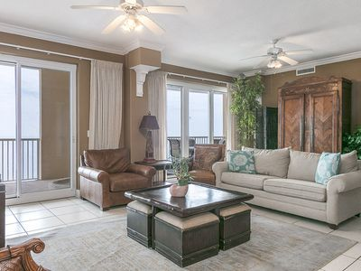 Photo for HAVE A BALL with Kaiser in Island Royale Penthouse #301: 4 BR/3 BA Condo in Gulf Shores Sleeps 10