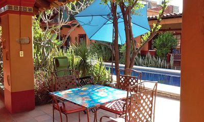 Photo for Spacious Villa with Pool, Patio & Gardens in Historic Center