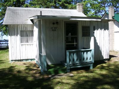Street view of cabin