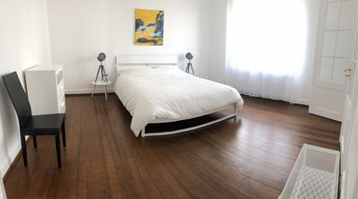 Photo for Big 4 rooms 90m2 in peace, close town center, free parking in the street