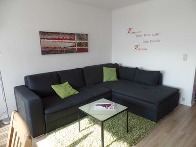 "Photo for 2-room apartment ""break"" with terrace, 300m to the beach - Sierksdorf - 2-room apartment on Pottberg"