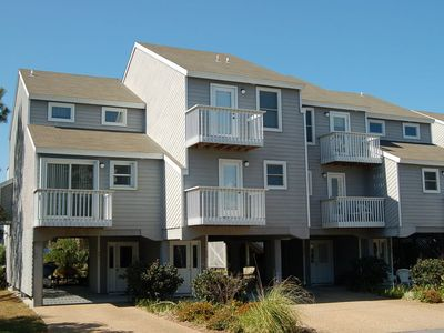 Photo for 3 Bedroom Barrier Dunes Townhome~Family Friendly~Community Pool & Boardwalk to Beach~Near State Park