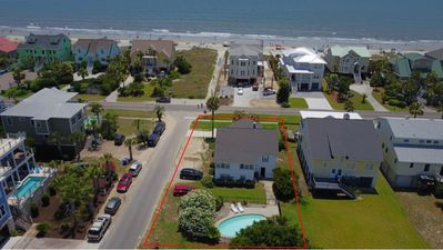 view shows how close we are to the beach! The red box is 817 Ocean or Sea View!